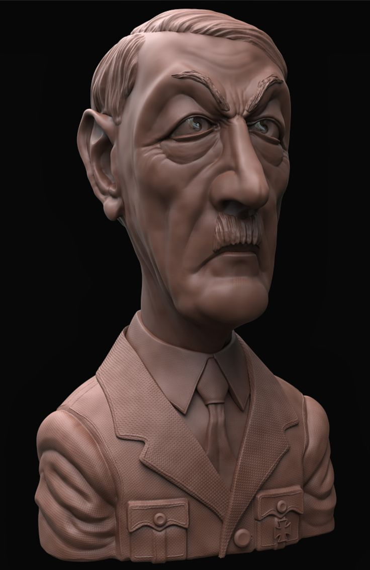 First in a series of caricature sculpts based on WW2 leaders.