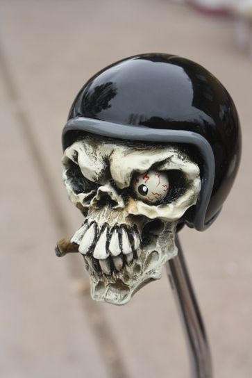 """Smokey"" Cigar Smokin' Racer Shift Knob - HouseOspeed - Hot Rod Shift Knob"