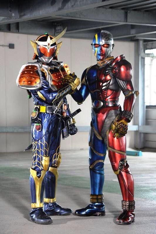 Kamen Rider Gaim vs. Kikaider