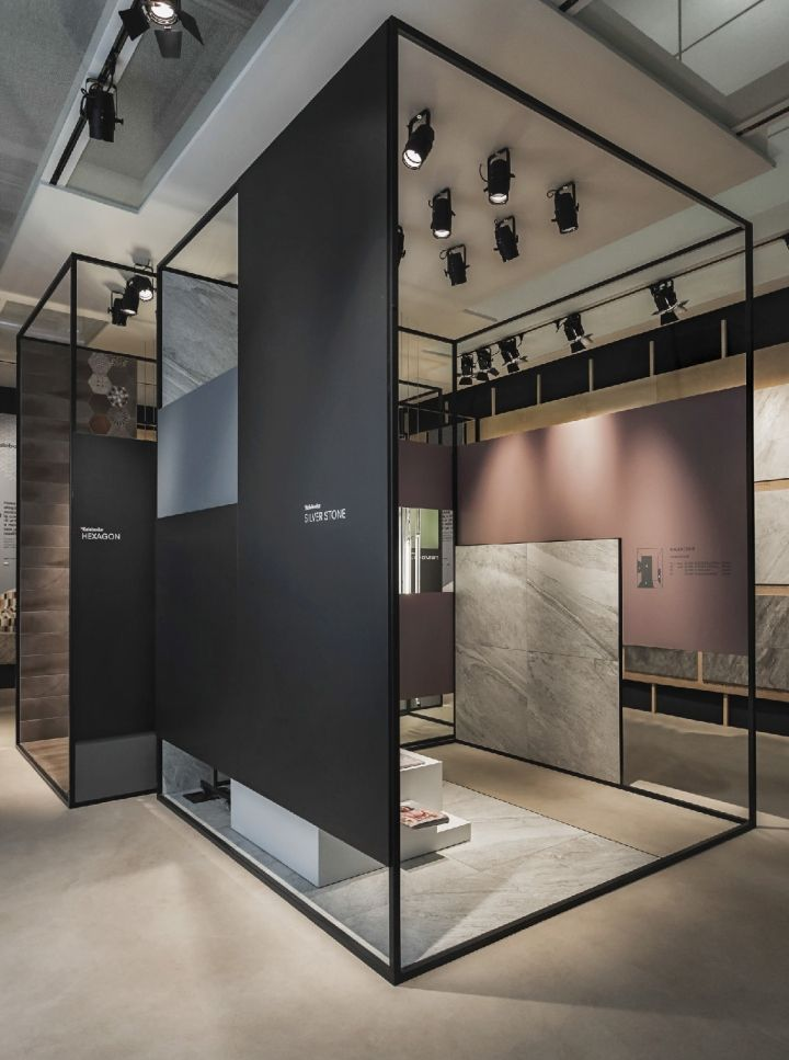 Kale Group Stand by Paolo Cesaretti at Cersaie 2014, Bologna – Italy