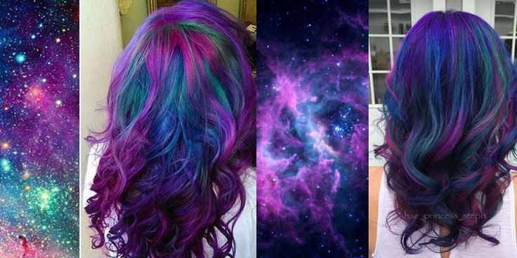 Galaxy Hair is the Incredible New Hair Color Trend You're Going to *Obsess* Over