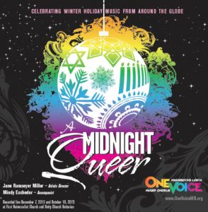 "A Midnight Queer (2015): One Voice Mixed Chorus | Features ""Run, Toboggan, Run"" by Abbie Betinis"