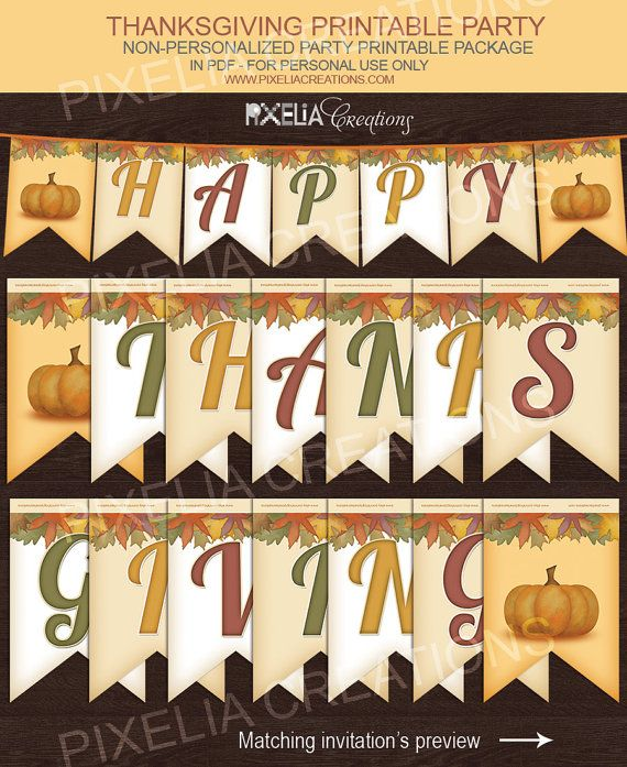 happy thanksgiving thanksgiving and banners on pinterest