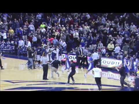Toledo Rockets Men's Basketball vs. Buffalo - Final Shot - this shot made national sports news.  Score tied; 2.5 seconds on the clock.