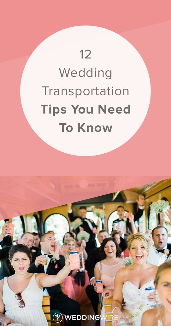 12 Wedding Transportation Tips You Need To Know - Learn what transportation experts had to say about the best way to book wedding transportation on @weddingwire! {Rockhill Studio}