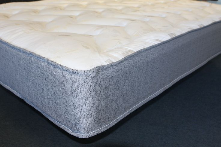 "3ft6 x 6ft6 Super Dream Ortho Mattress - £239.95 - Approx 3"" (10cm) longer and 6"" wider than a standard single mattress.  Approx 9"" (23cm) deep. A great firm tension/feel mattress suitable for any type of base.   A great alternative to our other quality mattresses and this one comes with a stylish damask fabric. Features an open coil spring system for good support.   Upholstered on both sides with deep layers of upholstery which results in a mattress which is not too soft or too firm."
