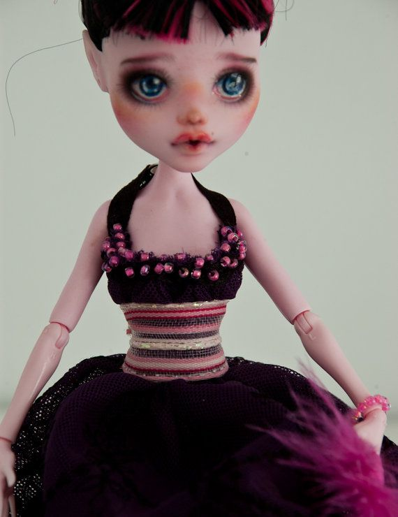 Little Duchess Repainted Monster High Doll by lapupadollmarket