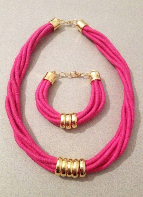 Pink rope set
