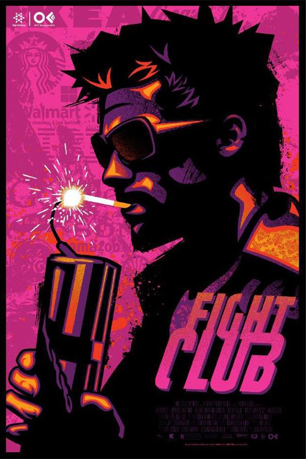 Fight Club Alternate Poster by James White