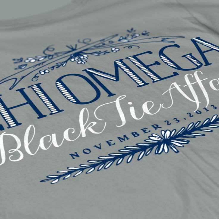 Chi Omega - Winter Formal Design - Southern Methodist University - ChiO - Sorority Tshirts - Check out b-unlimited.com!