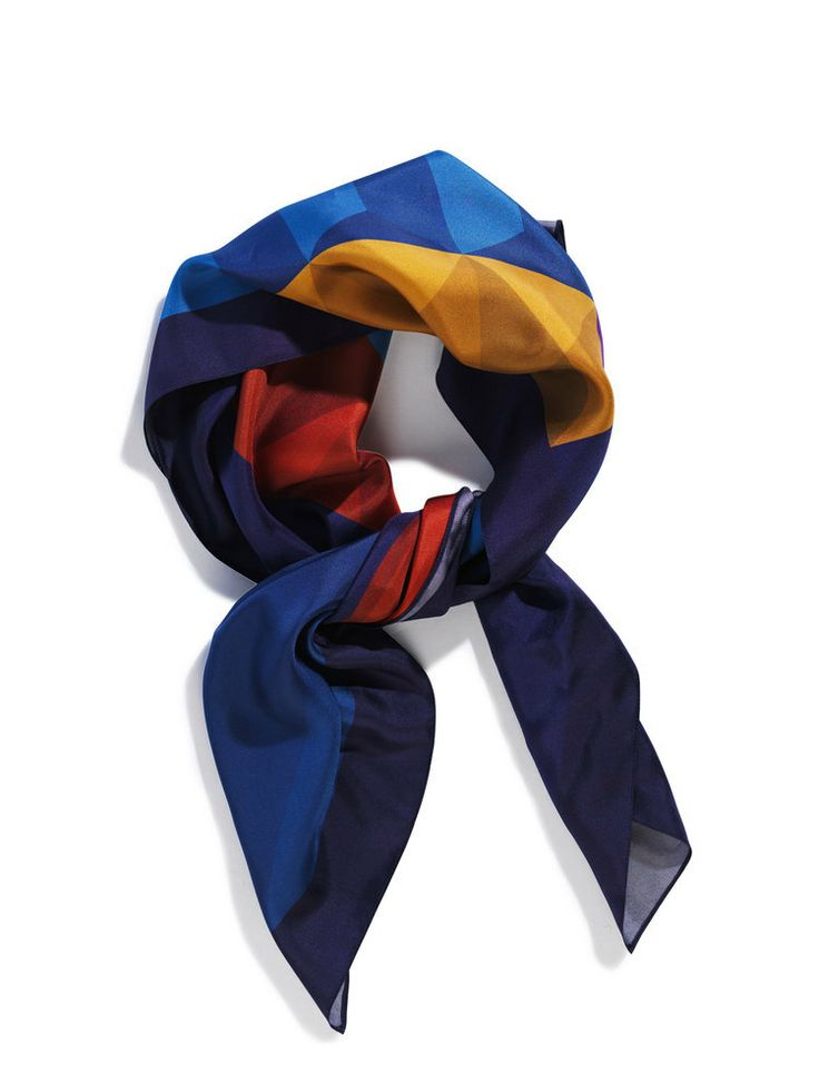 Image of Silk pocket square, print Stands to Reason