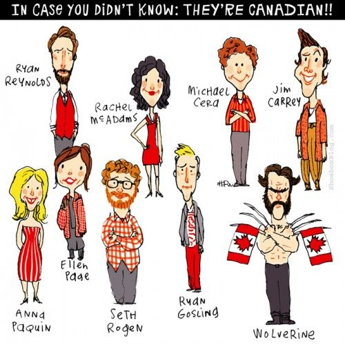 Famous Canadians | Canada OH Canada |