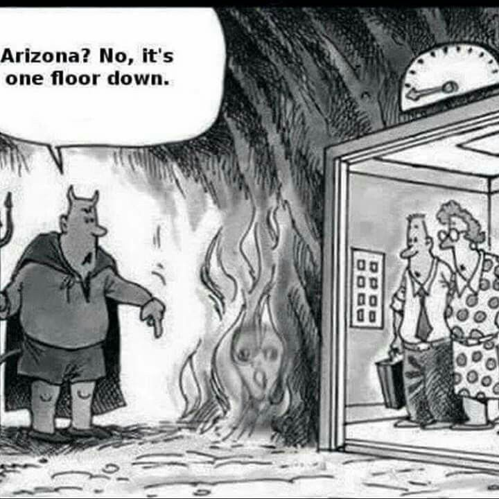 Omg truth....its hotter then hell right now. Lol