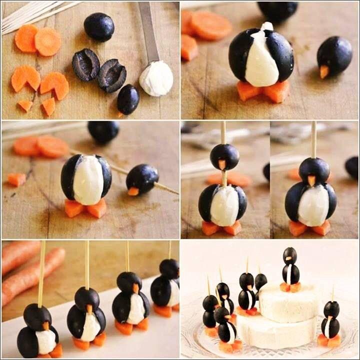 Pinguin hapjes, mmmmmm....