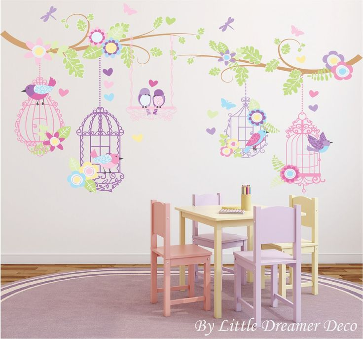 vinilos decorativos infantiles coleccion princesas y hadas