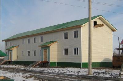 Жилой дом из сэндвич-панелей в г.Татарске
