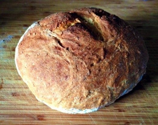 Rustic bread that's cheap, healthy, and easy to make with ingredients you already have in your kitchen.