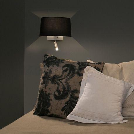 Volta est une lampe abat-jour LED idéale pour une chambre à coucher ou un salon. Créée par Estudi Ribaudi, cette lampe se veut intemporelle et élégante. Cette applique murale convient particulièrement pour l'éclairage en intérieur.