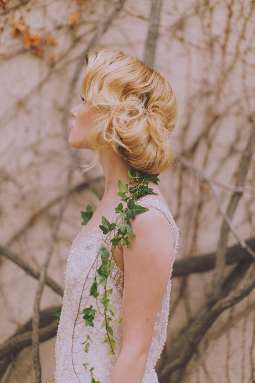 Hairstyle# Wedding# Curly Hair# Blond#