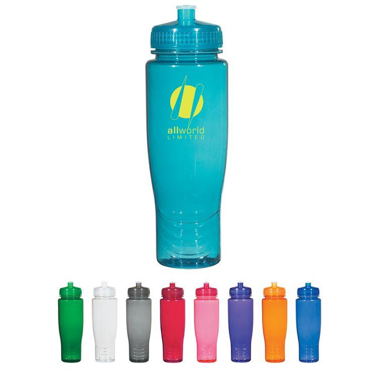 Go imprints promotional products summer fun promotional for Unique plastic bottles