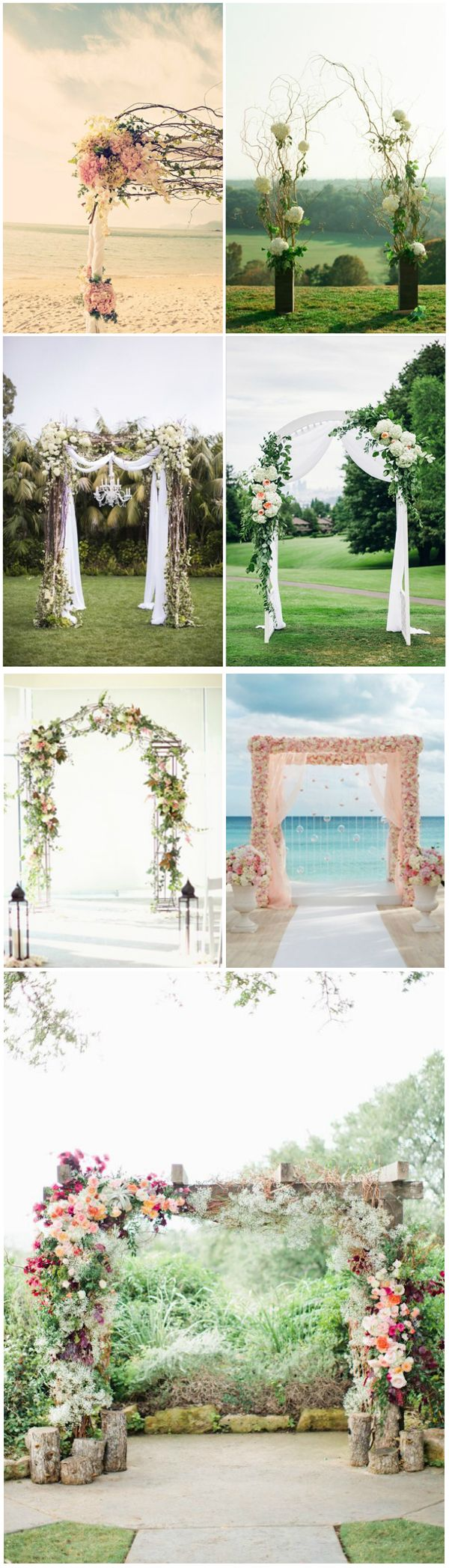 100 best images about wedding arbors on pinterest for Arbor wedding decoration ideas