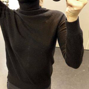 Plain Turtle Neck Sweater