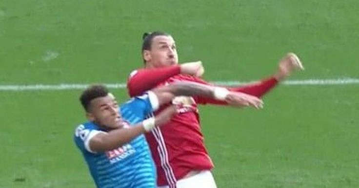 Zlatan Ibrahimovic clashed with Tyrone Mings during the Man Utd vs Bournemouth fixture in the Premier League.