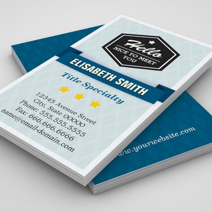 43 best Business Cards images on Pinterest | Business card design ...