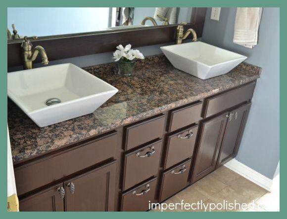 How To Choose Bathroom Countertops Bathroom Countertops Ideas Bathroom Remodel Bathroom Vanity Makeover Granite Bathroom Countertops Diy Bathroom Vanity Makeover