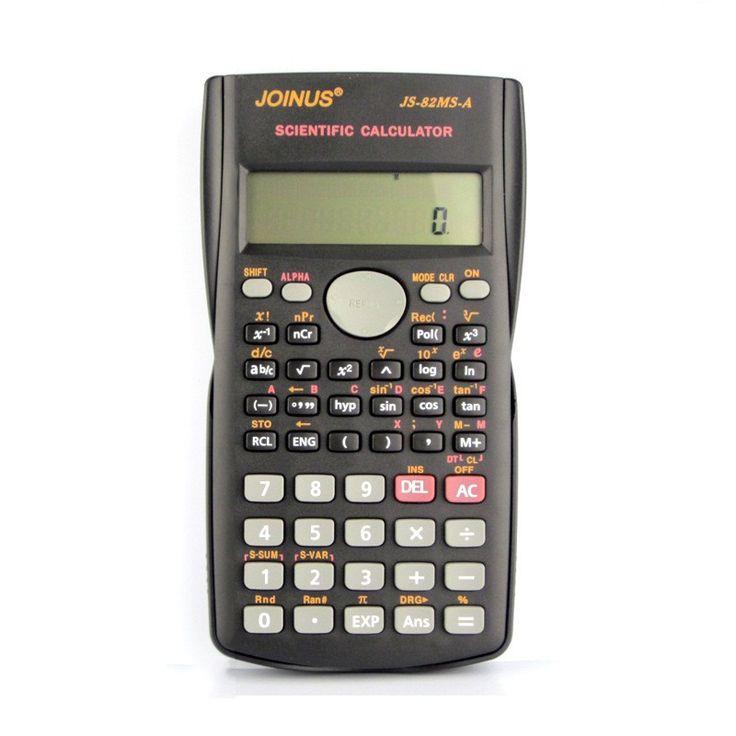 Estudante Calculadora Científica das Pilhas AAA (Não incluídas) de Bolso Calculadora Calculadoras Científicas para a Reunião Da Escola