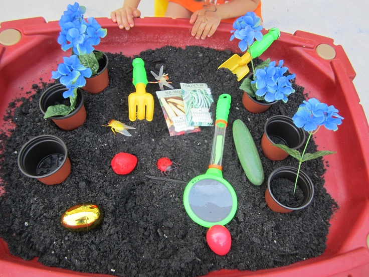 Sensory Table Idea Great For Spring Time Most Of The