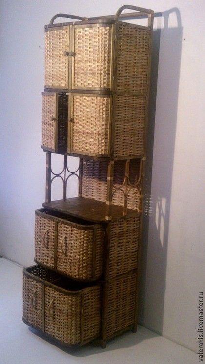 Мебель ручной работы. Ярмарка Мастеров - ручная работа Этажерка-шкаф. Handmade.