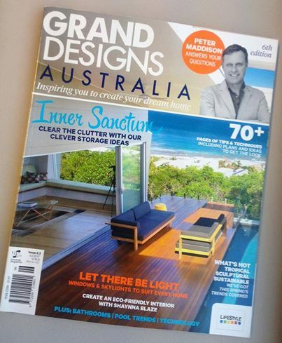 Spotted: Our 'Pure Sofa' by Tribu on the front cover of Grand Designs Australia magazine http://www.coshliving.com.au/