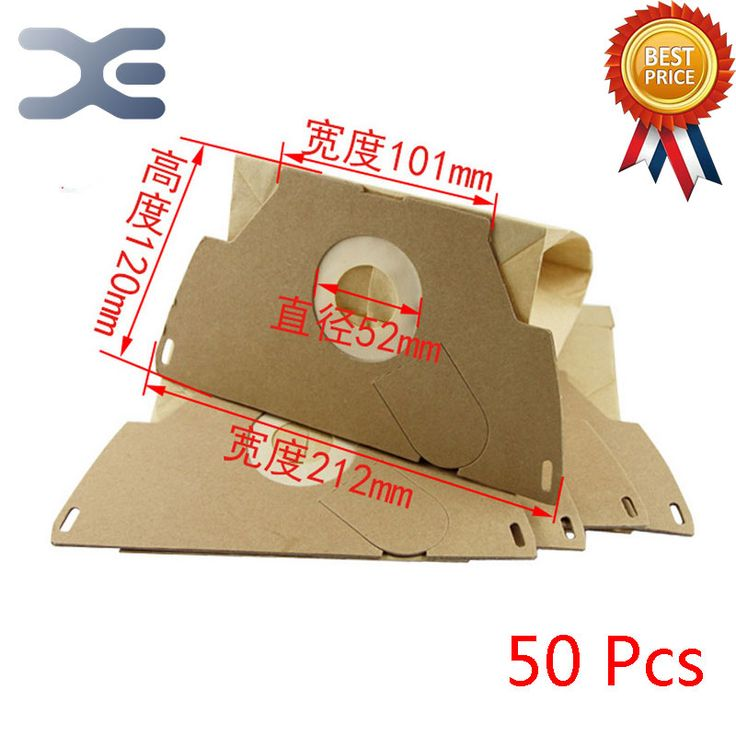 50Pcs High Quality Compatible With Electrolux Vacuum Cleaner Accessories Vacuum Paper Bag ZW1150-8 / 1500-9 #Affiliate
