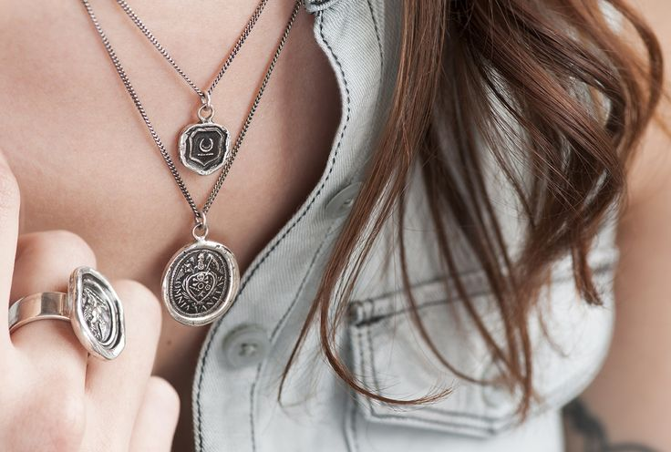 Pyrrha talisman necklaces — shop by meaning to find a gift for any occasion #NewBeginnings #Vanity #FollowYourDreams