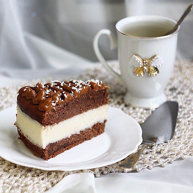 """Самый простой """"Баунти"""", готовится невероятно легко и быстро, но при этом очень вкусный и сытный! Специально для флеш моба #bounty_dessert_month от @tartobanda. Рецепт будет ниже!⬇️⬇️⬇️"""