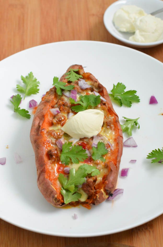Mexican Stuffed Sweet Potatoes. Easy, healthy and so very tasty!!