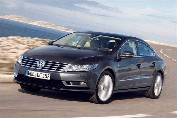 Desde 2008, a Volkswagen CC está no mercado até 2012, ele foi nomeado Passat CC