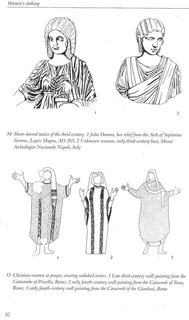 Book: Roman Clothing and Fashion by Crown.
