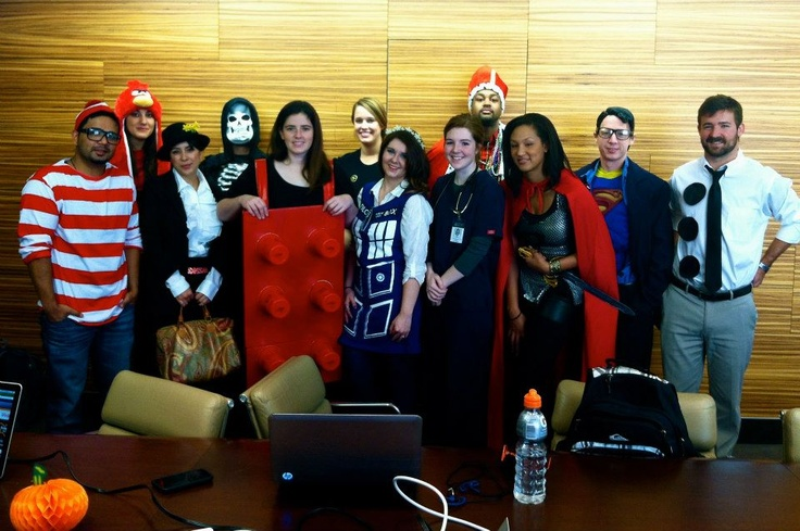 The entire Local Search Group team wants to wish you a Happy Halloween! — with Jay Khan, Laura Kendler, Constance Shook, Kathleen Perley, Angela Jones, Louise Armstrong, Emily Anne Moore Kuoni, Brandon Devon McGrath, Jim Flint and Ben First.