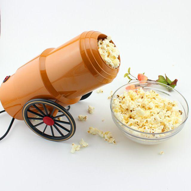 PM-1939 Мини Бытовая Электрическая Попкорна Машины Автоматические Красный Кукурузы Поппер Природный Попкорн Для Детей КТВ Домашний Бар