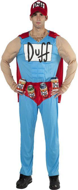 Duffman Costume