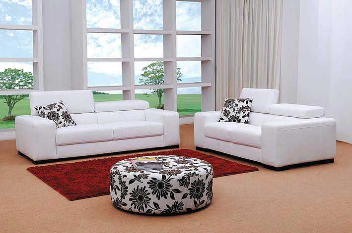 Adjustable headrests white miami fabric sofa set consumer reviews