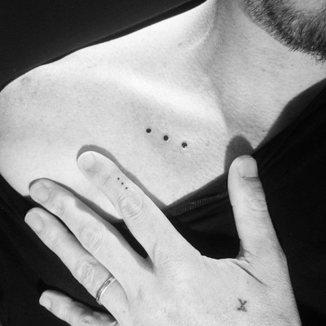 25 best ideas about dot tattoos on pinterest 3 dot for 3 dots tattoo