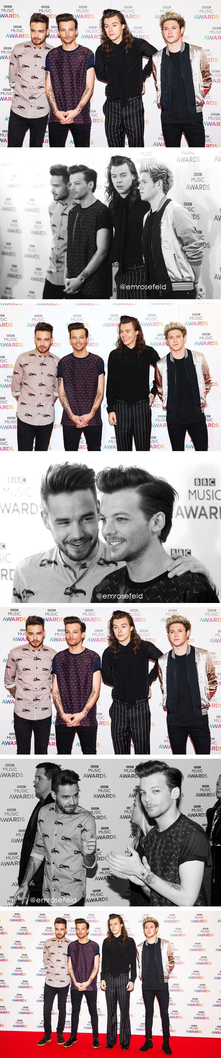 One Direction | BBC Music Awards 12.10.15 | @emrosefeld |