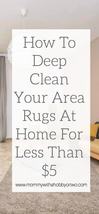 Learn How I Deep Clean My Area Rugs Without Using Harsh Chemicals To Keep House Smelling Fresh And Odor Free For Under 5