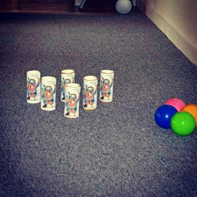 Pirat bowling - nemt, billigt og et sikkert hit!
