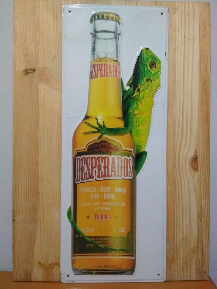 It is a beautiful Desperados Tequila Beer Advertising Metal Sign. It is bargain for this price get it quickly and added for your collection! In good condition regarding its plenty years of age! | eBay!