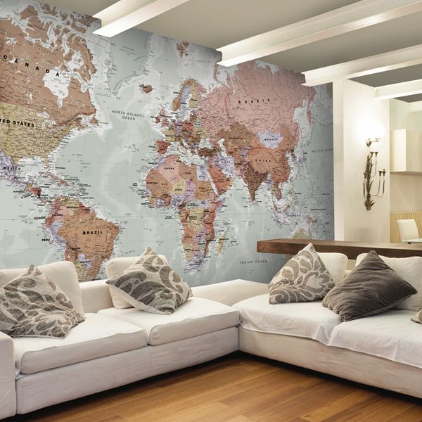 34 best stunning map wall murals images on pinterest murals bring the world to your home with this stunning made to measure map mural available gumiabroncs Gallery