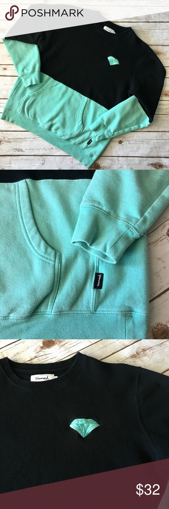 Diamond Supply Company - Men's Sweater (L) Diamond Supply Company - Men's Sweater With Hip Pockets (size Large). In amazing preowned condition. Please be sure to check out all of my other men's items to bundle and save. Same day or next business day shipping is guaranteed. Reasonable offers will be considered. Diamond Supply Co. Sweaters